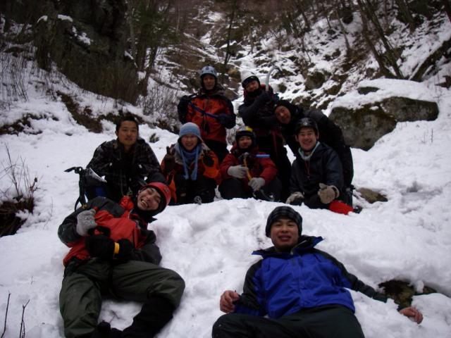 2012会山行東沢