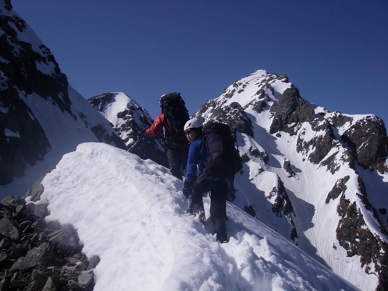 明神岳東稜