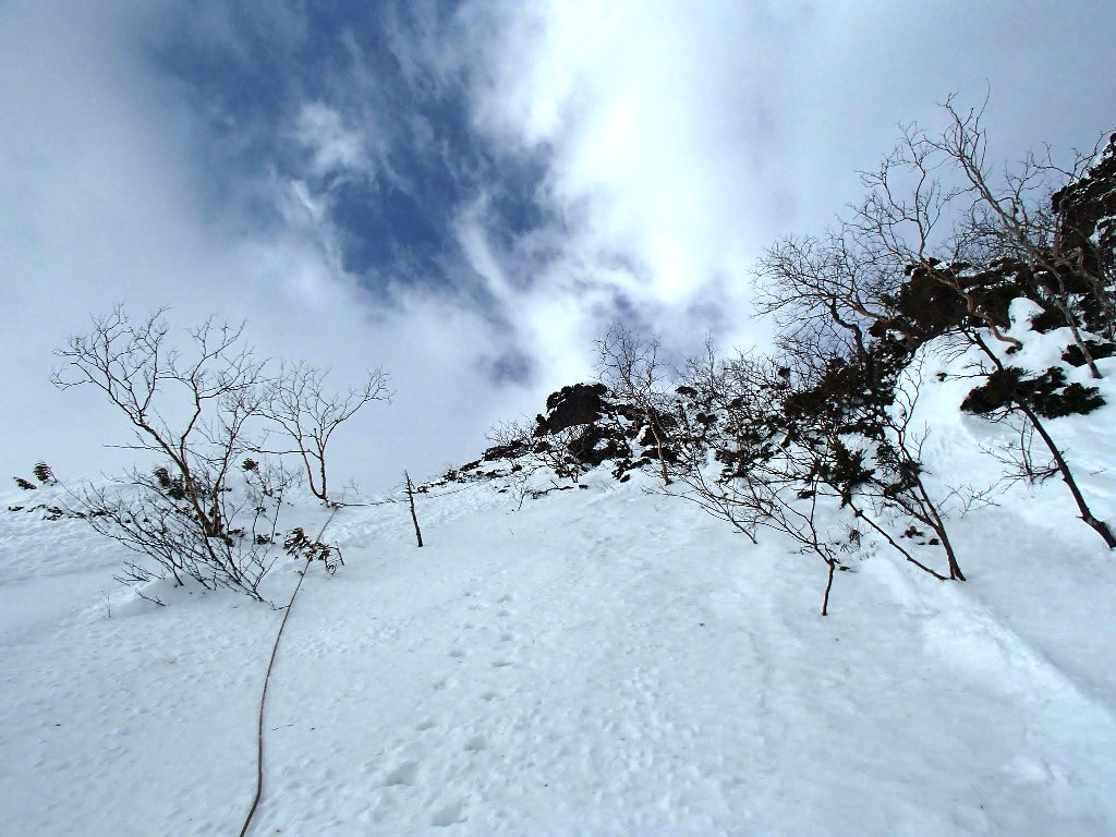 五龍岳GII中央稜